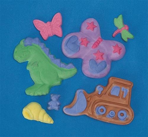 Magic Color Plaster Casting Pack (Pack of 48)