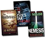 Jo Nesbo, Harry Hole Books 3, 4 and 5 Collection (Redbreast, Nemesis, The Devils Star) Jo Nesbo