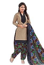 Gugaliya Women's Unstiched Superior Cotton FASHION SALWAR,KAMEEZ & DUPATTA Suit ( P525 )