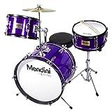 Mendini 3-Piece 16-Inch Junior Drum Set, Metallic Electric Picture