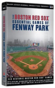 The Boston Red Sox Essential Games of Fenway Park (Steelbook Packaging)
