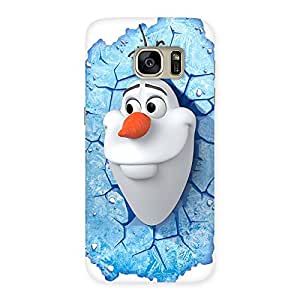 Luxirious Snowy Olfa Multicolor Back Case Cover for Galaxy S7