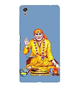 Om Sri Sai Annavastradaaya 3D Hard Polycarbonate Designer Back Case Cover for Sony Xperia C6 Ultra