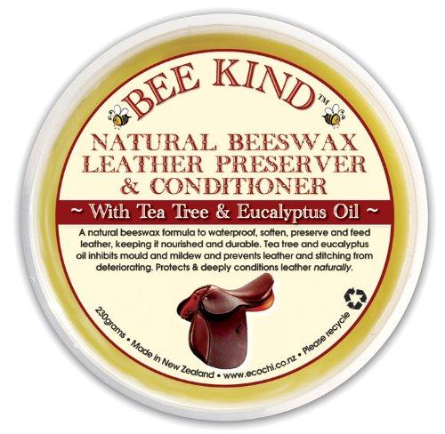 BEE KIND 天然蜜蝋ワックス革の保護&コンディショナー230g
