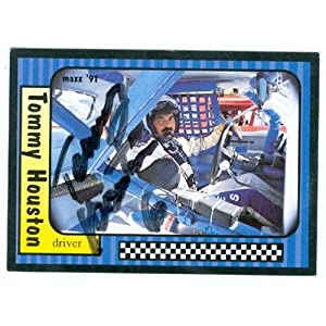 Houston Auto Racing on Tommy Houston Autographed Hand Signed Trading Card  Auto Racing  Maxx