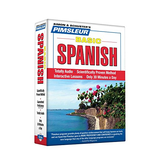 Pimsleur Spanish Basic Course - Level 1 Lessons 1-10 CD: Learn to Speak and Understand Latin American Spanish with Pimsleur Language Programs
