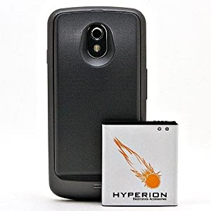 Hyperion Samsung Galaxy Note 3 back cover with extended battery
