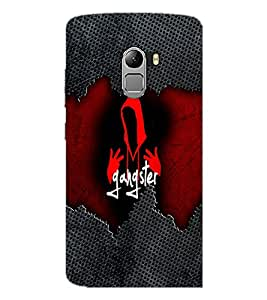 PrintDhaba Gangster D-4076 Back Case Cover for LENOVO VIBE X3 LITE (Multi-Coloured)
