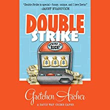 Double Strike (       UNABRIDGED) by Gretchen Archer Narrated by Amber Benson