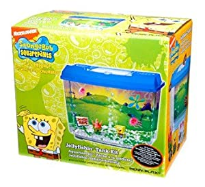 Penn plax penn plax spongebob aquarium kit for Spongebob fish tank
