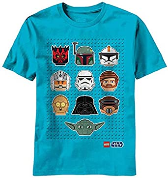 Lego: Star Wars Star Heads Juvy Turqouise T-Shirt | 7