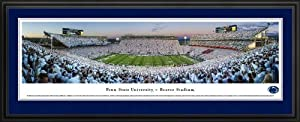 Pennsylvania State Nittany Lions - Beaver Stadium - White Out 2013 - Framed Poster... by Laminated Visuals