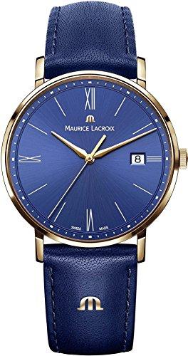 Maurice Lacroix Eliros EL1087-PVP01-410-1 Reloj de Pulsera para hombres Plano & ligero