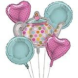Tea Time Balloon Cluster (5) Party Supplies