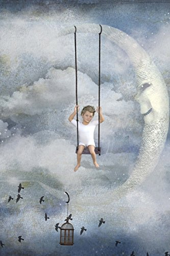 a-child-swinging-from-a-crescent-moon-dream-journal