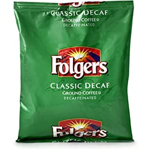 FOLGER'S Coffee Decaffeinated Gemini, 2.7-Ounce Boxes (Pack of 50)