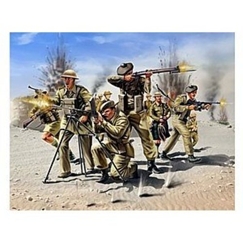 Buy Low Price Revell 02512 1/72 Scottish Infantry 8th Army WWII Figure (B004DZOHKC)