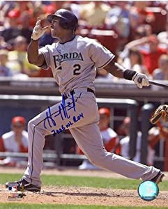 Hanley Ramrez 2006 NL ROY Autographed Florida Marlins Baseball 8x10 Photo -... by Sports+Memorabilia