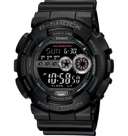 G-Shock X-Large Digital Military Series Watch Black, One Size