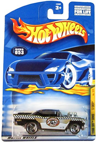 Hot Wheels 2001-053 Turbo Taxi Series '57 Chevy 1/4 1:64 Scale - 1