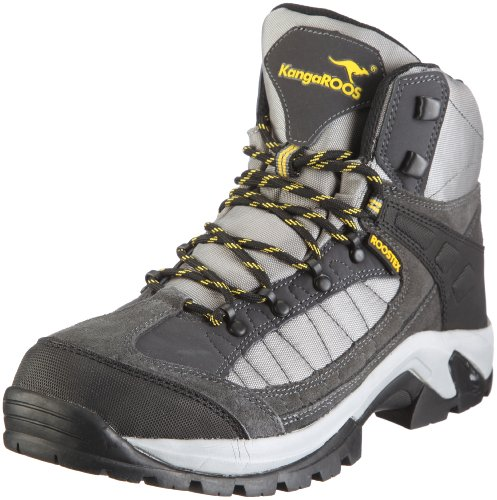 KangaROOS Swift 71675, Herren Outdoor Fitnessschuhe, Grau (dk.grey/lt.grey/yellow 228), EU 43