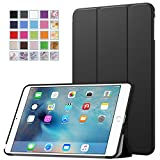 MoKo iPad Mini 4 Case - Ultra Slim Lightweight Smart-shell Stand Cover Case With Auto Wake / Sleep for Apple iPad Mini 4 (2015 edition) 7.9 inch iOS Tablet, BLACK