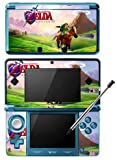 Zelda Ocarina of Time Game Skin for Nintendo 3DS Console