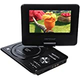 7.5-Inch Portable DVD Player,LCD Screen Display,USB,Analog Signal TV,SWIVEL&Flip,VAG/CD/VCD/MP3/MP4/USB,Home Theater by DBPOWER (7.5 inch)