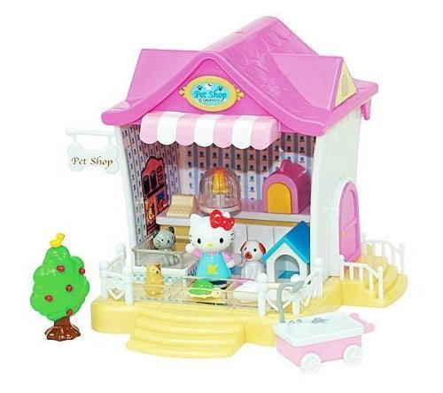 Hello Kitty Pet Shop Playset