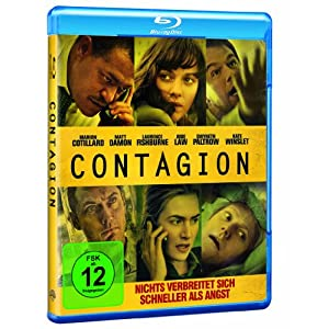 BD * Contagion [Blu-ray] [Import allemand]