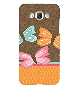 PrintVisa Butterfly Classy Design 3D Hard Polycarbonate Designer Back Case Cover for Samsung Galaxy Grand MAX