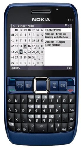 Nokia E63-2 Unlocked Phone