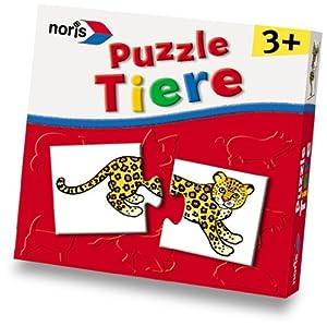 Noris 898-1801 - Tier-Puzzle für Kleinkinder