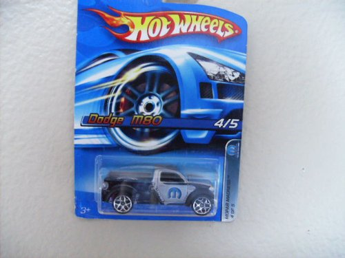 Hot Wheels Dodge M80 2006 Mopar Madness Series with Y5 Wheels[toy]