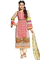 Lebaas Cotton Printed Salwar Suit Dupatta Material (Un-Stitched) - (With Discount and Sale Offer)