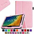 Fintie Premium PU Leather Case Cover for 10.1 Android Tablet inclu. Dragon Touch A1 10.1, iRulu 10.1 A20, ProntoTec 10 inch Dual Core Android 4.2 Tablet PC, Contixo Q102 10.1, Poofek 10.1 inch Google Android Tablet 32GB / A31S, Polatab Elite Q10.1, ValuePad VP112 10, Tagital T10 10.1, Shamo's New 10.1, Epassion E1 10.1, TouchTab 10.1, Amar 10.1 A20, NeuTab N10 10.1(PLEASE check the complete compatible tablet list under Product Description) - Pink