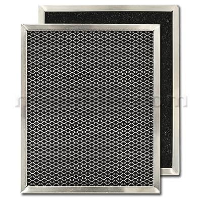 "Carbon Range Hood Filter 8 3/4"" x 10 1/2"" x 3/8"""