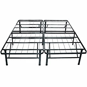 amazon heavy duty queen bed frame
