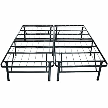 Unique Classic Brands Hercules Platform Heavy Duty Metal Bed Frame Mattress Foundation Twin Size