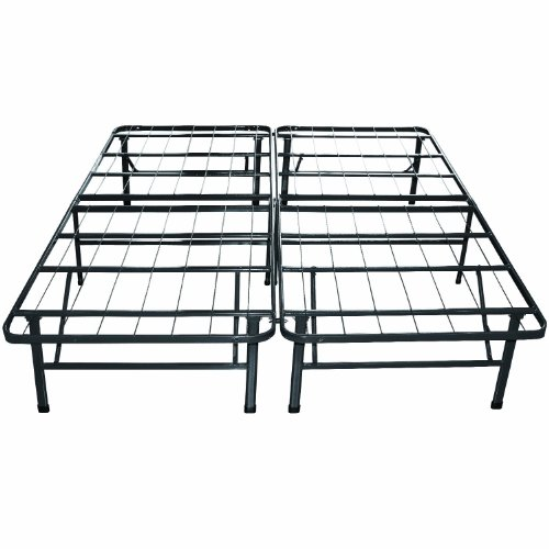 Classic Brands Hercules Platform Heavy Duty Metal Bed Frame/Mattress Foundation, Queen (Portable Bed Frame compare prices)