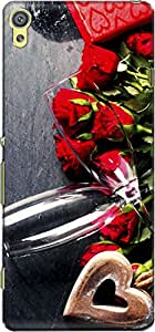 The Racoon Grip Tokens Of Love hard plastic printed back case/cover for Sony Xperia XA