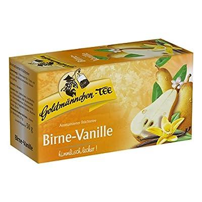 Goldmännchen Tee Birne-Vanille, Früchtetee, 20 Teebeutel von H & S Tee-Gesellschaft mbH bei Gewürze Shop