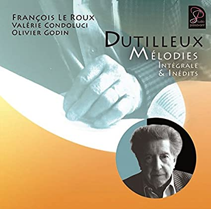 Dutilleux - Hors Orchestre (Chambre, Piano, Mélodies) 51ed5kYMoXL._SX425_