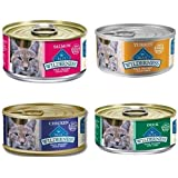 Blue Buffalo Wilderness Grain-Free Variety Pack Canned Cat Food, 24 x 3 oz