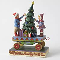 Jim Shore Children Christmas Train Car