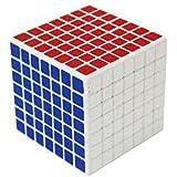 ShengShou 7x7 7.5cm Speed Cube White Twisty Magic Puzzle