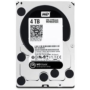 Western Digital WD Black 4TB 64MB SATA6.0G WD4003FZEX