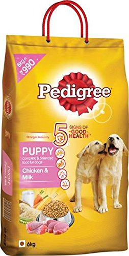 Pedigree Puppy Chicken And Milk, 6 Kg