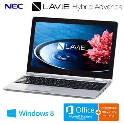 LaVie Hybrid Advance HA750/AAS  PC-HA750AAS