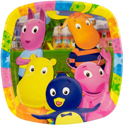 Backyardigans Dinner Pocket Plates (8 count)
